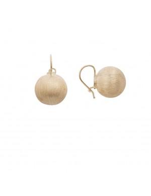 5.63 gram 18K Italian Gold Earrings