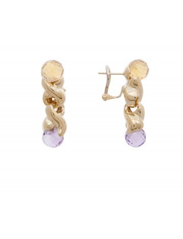 10 27 Gram 18k Italian Gold Earrings