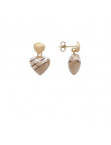 4 20 Gram 18k Italian Gold Earrings