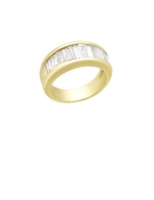1.30ct Diamond 18K Gold Ring