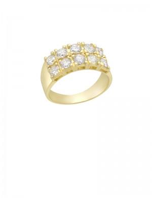 2.00ct Diamond 18K Gold Ring