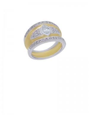 0.64ct Diamond 18K Gold Ring