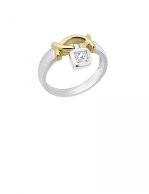 0.25ct Diamond 18K Gold Ring
