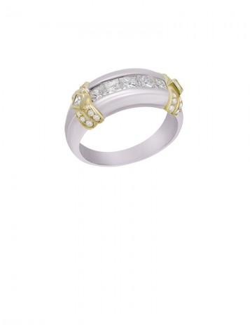 0 98ct Diamond Platinum 18K Gold Ring line Jewellery Gemstone