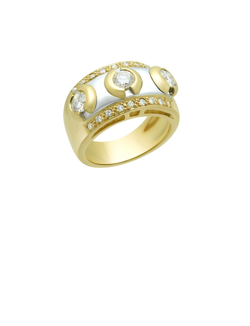 jewellery ring en gold yellow online white gemstone