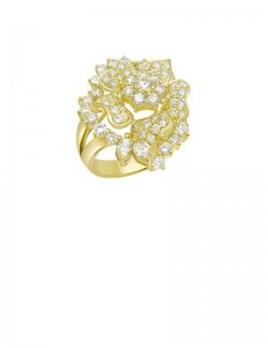 3.07ct Diamond 18K Gold Ring