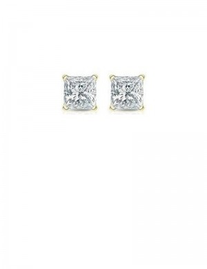 1.03ct Diamond 18K Gold Stud Earrings
