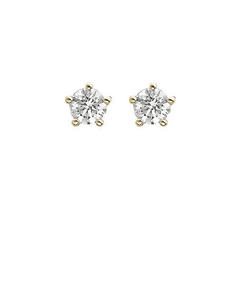 gold stud earrings diamond en jewellery gemstone online