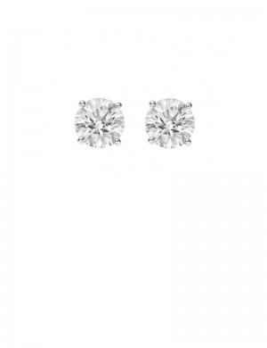 0.57ct Diamond Platinum Stud Earrings