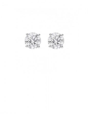 0 57ct Diamond Platinum Stud Earrings Online Jewellery Gemstone Diamond By Bysell Singapore