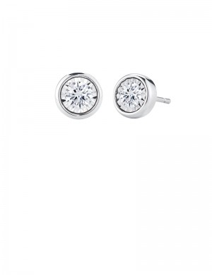 1.02ct Diamond 18K Gold Stud Earrings