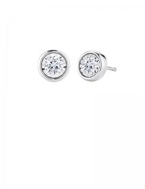 1.02ct Diamond 18K Gold Stud Earrings
