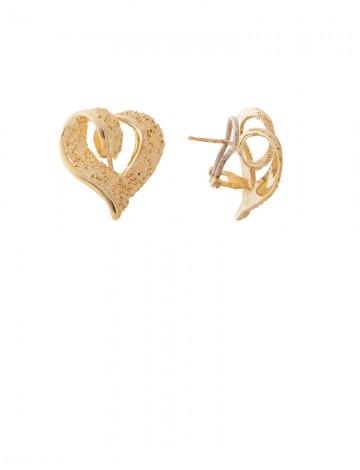 1112gram 18K Italian Gold Earrings Online Jewellery Gemstone