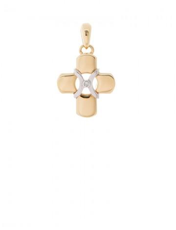 919gram 18k italian gold cross pendant online jewellery gemstone 919gram 18k italian gold cross pendant aloadofball Image collections