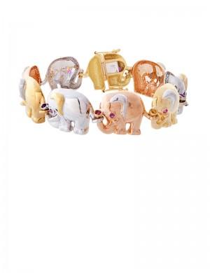 35.10 gram 18K Italian Gold Bracelet