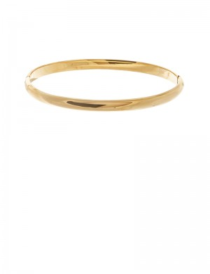 10.04gm 18K Italian Gold Bangle