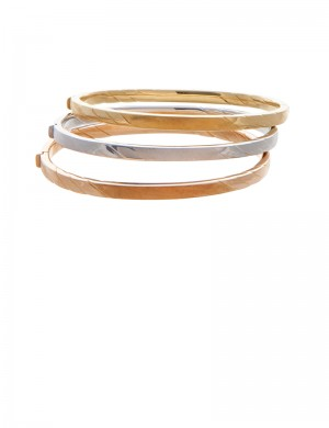 25.60gm 18K Italian Gold Bangle