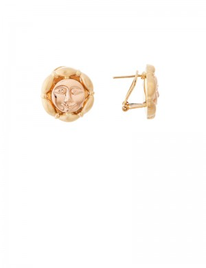 6.77gm 18K Italian Gold Earrings