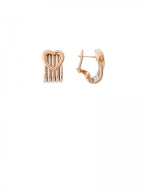 10.37gm 18K Italian Gold Earrings