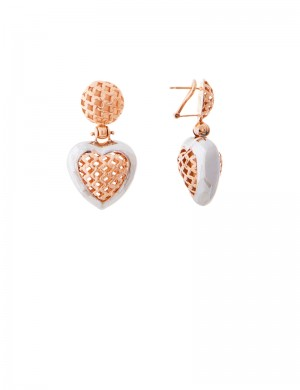 14.60gm 18K Italian Gold Earrings