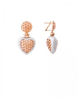 14.60gm 18K Italian Gold Earrings