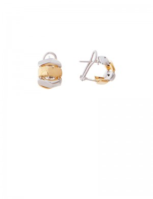 4.34gm 18K Italian Gold Earrings