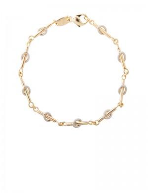 8.70gm 18K Italian Gold Bracelet