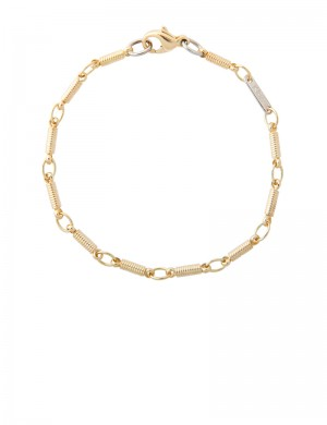 8.10gm 18K Italian Gold Bracelet