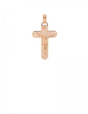 3.30 gram 18K Italian Gold Cross pendant