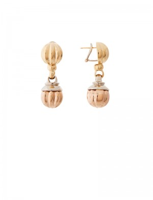 17.50gm 18K Italian Gold Earrings