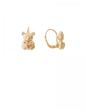 4.30gm 18K Italian Gold Earrings