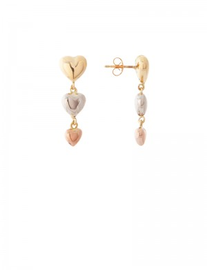 4.31gm 18K Italian Gold Earrings