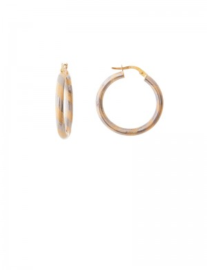 5.05gm 18K Italian Gold Earrings