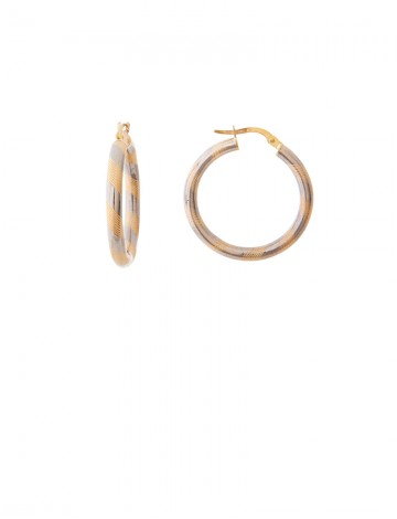 5 05gm 18k Italian Gold Earrings