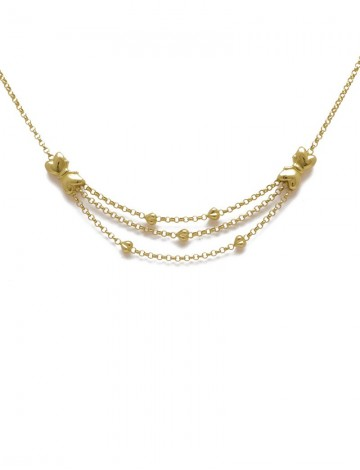 trendy necklace price cost item white gold genuine yellow sale pure chain mintha rose