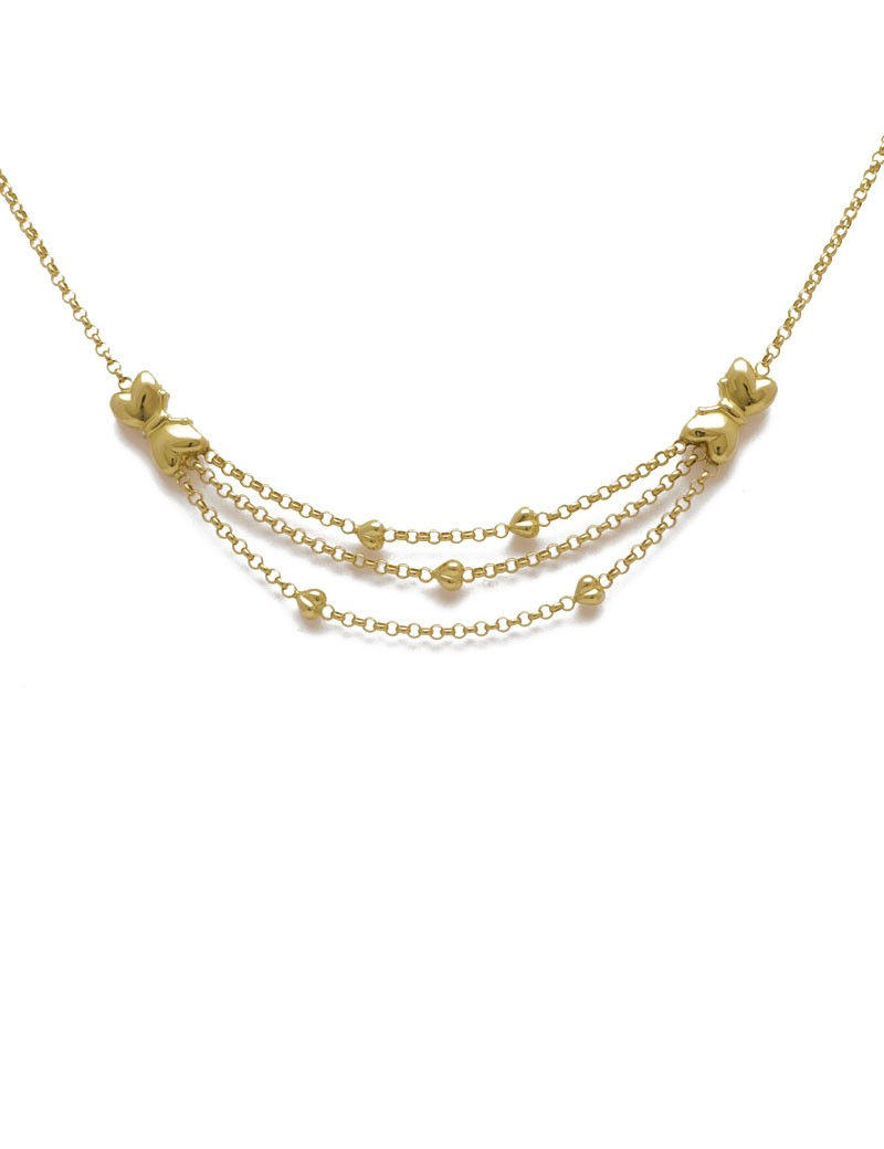 small tags and necklaces necklace fluted in products zoom pdp gold men chain