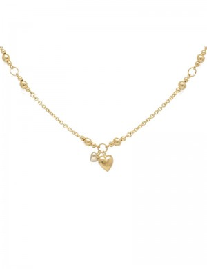 11.75 Gram 18K White & Yellow Gold Necklace