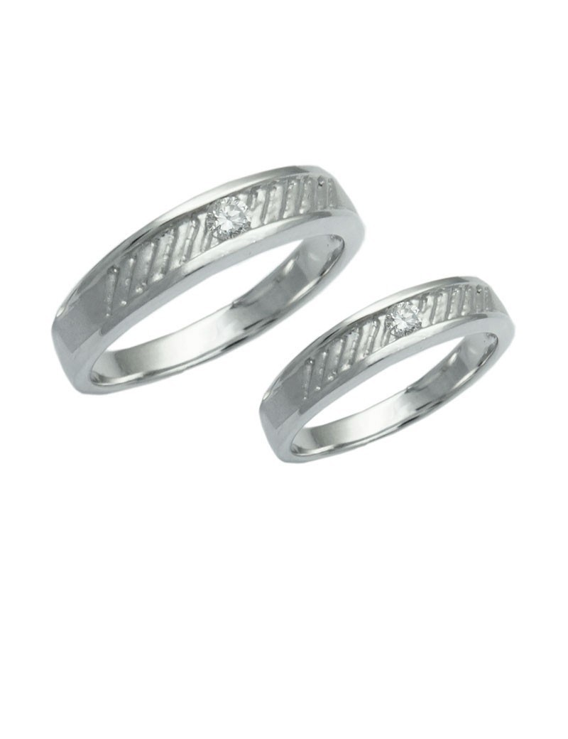 cut set ring product engagement band bridal wedding princess bands matching jewellery channel