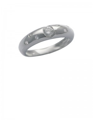 0.22ct Diamond 18K Gold Ring