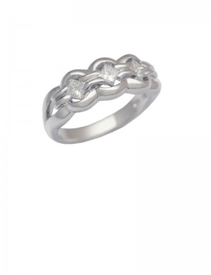 0.44ct Diamond 18K Gold Ring
