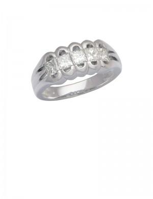 1.00ct Diamond Platinum Ring