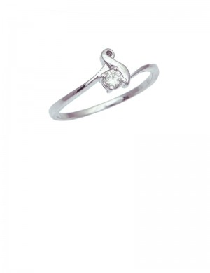 0.10ct Diamond 18K Gold Ring