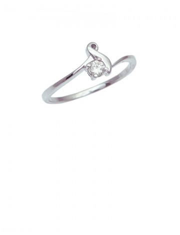 0.10ct Diamond 18K Gold Ring