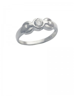 0.20ct Diamond 18K Gold Ring