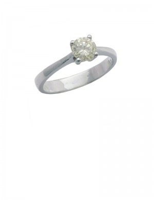 0.38ct Diamond 18K Gold Ring