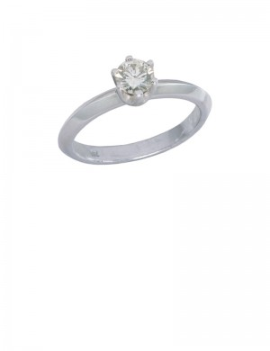 0.32ct Diamond 18K Gold Ring