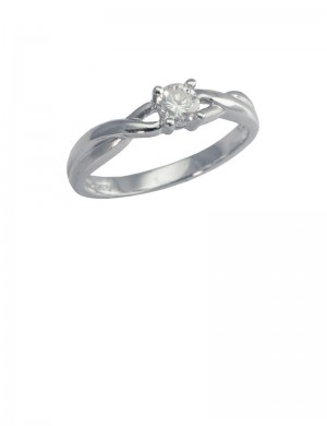 0.27ct Diamond 18K Gold Ring