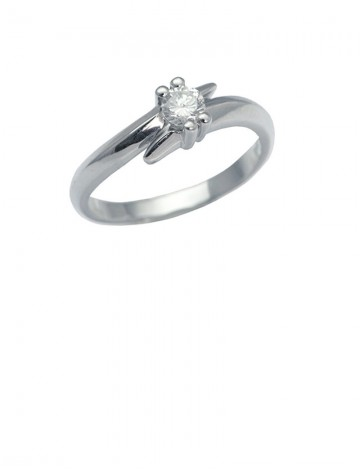 0.19ct Diamond 18K Gold Ring