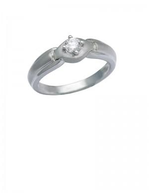 0.18ct Diamond 18K Gold Ring