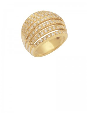 1.29ct Diamond 18K Gold Ring